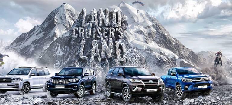 Внедорожный тест-драйв Land Cruiser's Land разворачивается на60 городов России