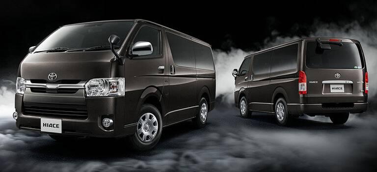 Toyota выпустила Hiace вспецкомплектации вчесть 50-летия модели