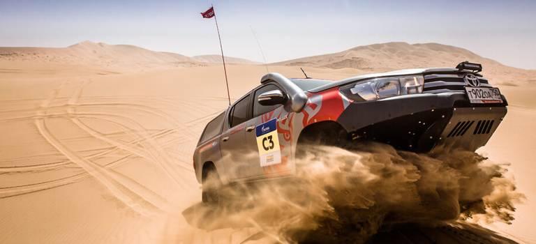 Герои песка игравия: Toyota представляет ралли-рейд «Шелковый путь 2018»