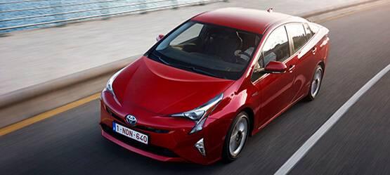 Тест-драйв Toyota Prius вТойота Центр Иваново