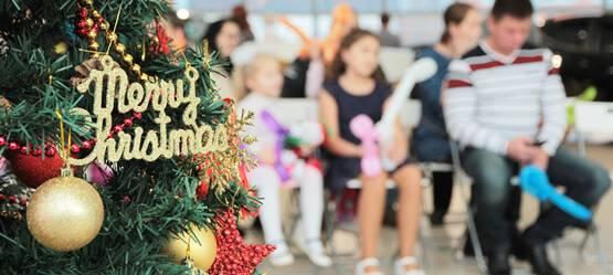 23декабря вТойота Центр Измайлово иТойота Центр Люберцы прошло детское новогоднее мероприятие!