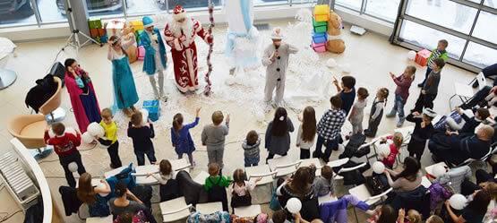 24декабря вТойота Центр Измайлово иТойота Центр Люберцы прошло детское новогоднее мероприятие!
