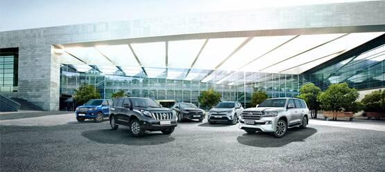 Результаты продаж Toyota поитогам первого квартала 2017 года