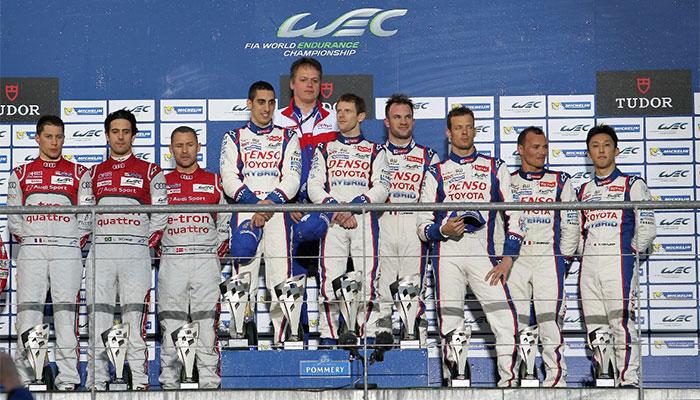 Уверенная победа команды TOYOTA Racing в гонке «Спа-Франкоршам»