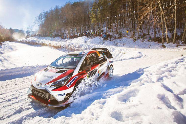 Ралли-кар Yaris WRC
